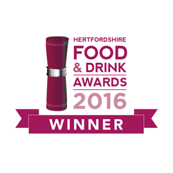 Food and Drink Herts 2016 Winner - best independent food retailer.